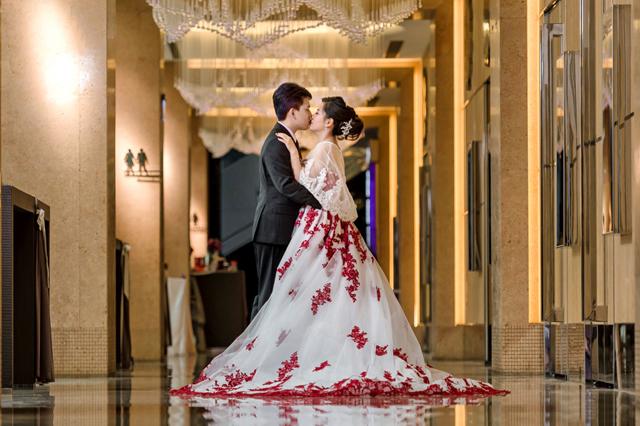 『婚攝』旻廷+怡安 婚禮紀錄 @ 新店京采飯店