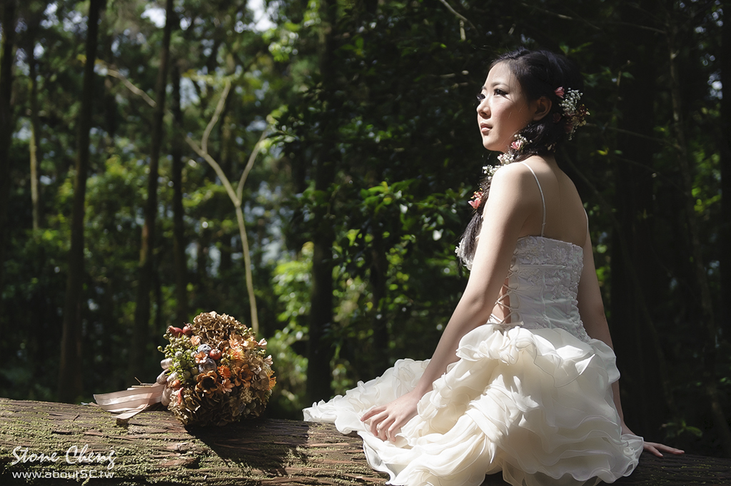 婚紗,自助婚紗,婚紗寫真,婚攝史東,史東影像工作室,aboutSC,Stone Cheng,花語,陽明山黑森林