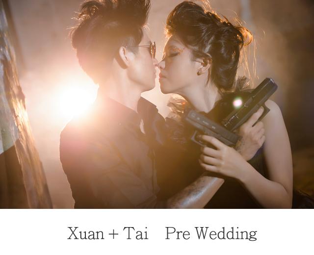 『婚紗』Xuan + Tai  自助婚紗 – DIABLO 2015 @ 樹林廢墟