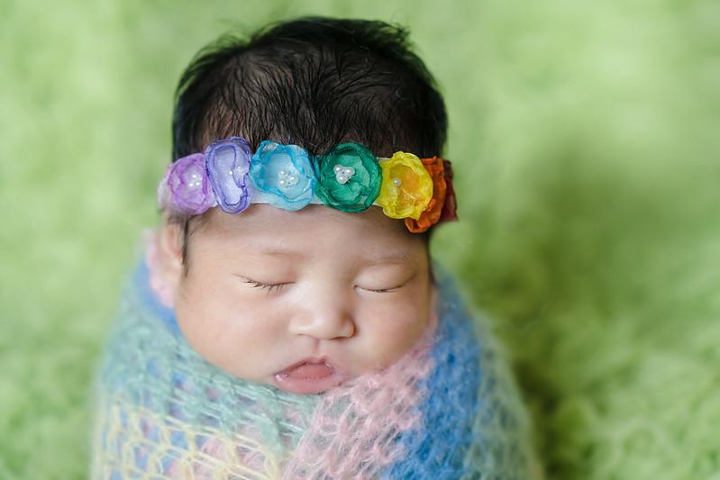 『兒攝』米米 新生兒寫真